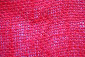 赤い布のテクスチャ — ストック写真