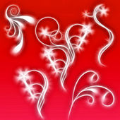 Arka plan desenleri ile — Stok fotoğraf