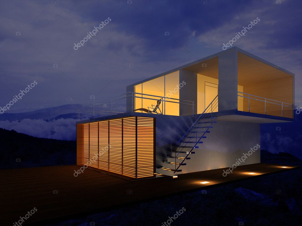 Modern house  Stock Photo #2757552