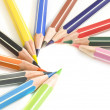 Colored pencils — Stock Photo #2852273