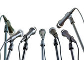 Microphones — Foto Stock