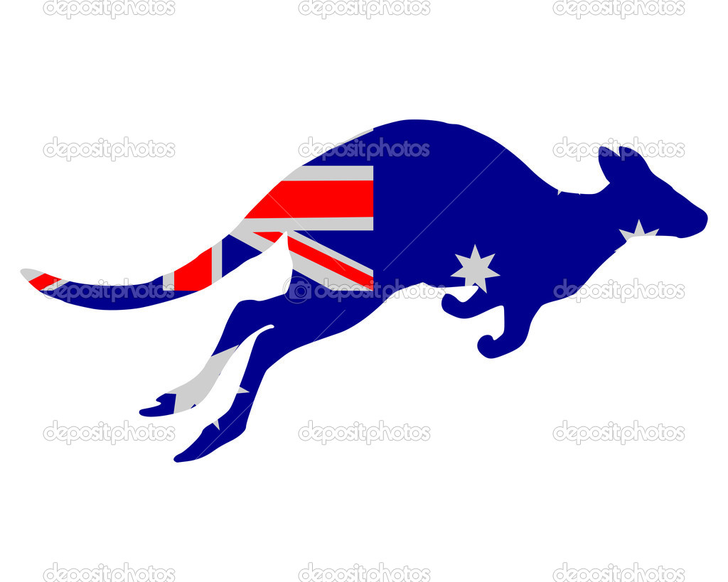 Flag of Australia with