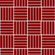 Red longitudinal and transverse stripes - Stock Photo