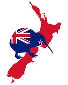 Kiwi of New Zealand — Stock Photo
