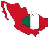 Mexican handshake — Stock Photo
