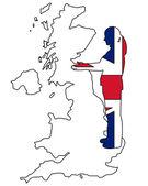 British handshake — Stock Photo