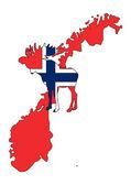 Norwegian moose — Stock Photo