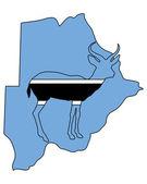 博茨瓦纳羚羊 — 图库照片