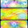 Royalty-Free Stock Vector Image: Bright banners collection - eps 10