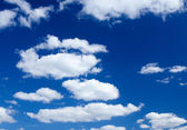 White clouds — Stockfoto