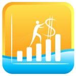 Dollar rate — Stock Vector #3701214