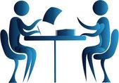 επιχείρηση γραφική εργασία — Διανυσματικό Αρχείο