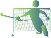Hockey — Stockvektor