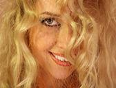 Beauty happy blond — Stock Photo