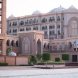 Emirates Palace Hotel. Evening — Stock Photo #3859481