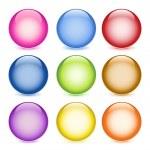 palle lucidi — Vettoriale Stock  #3749725