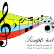 notas musical — Vector de stock  #3749742