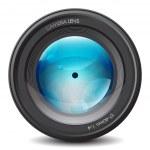 Camera lens — Stock Vector #3749785
