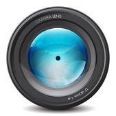 Camera lens — Stock Vector