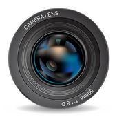 Photo lens eps10 — Stock Vector