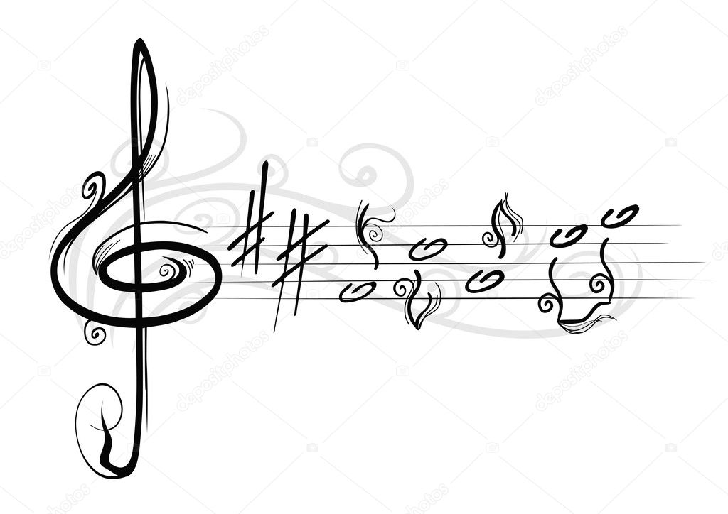 Musical notes — Stock Vector #3749691