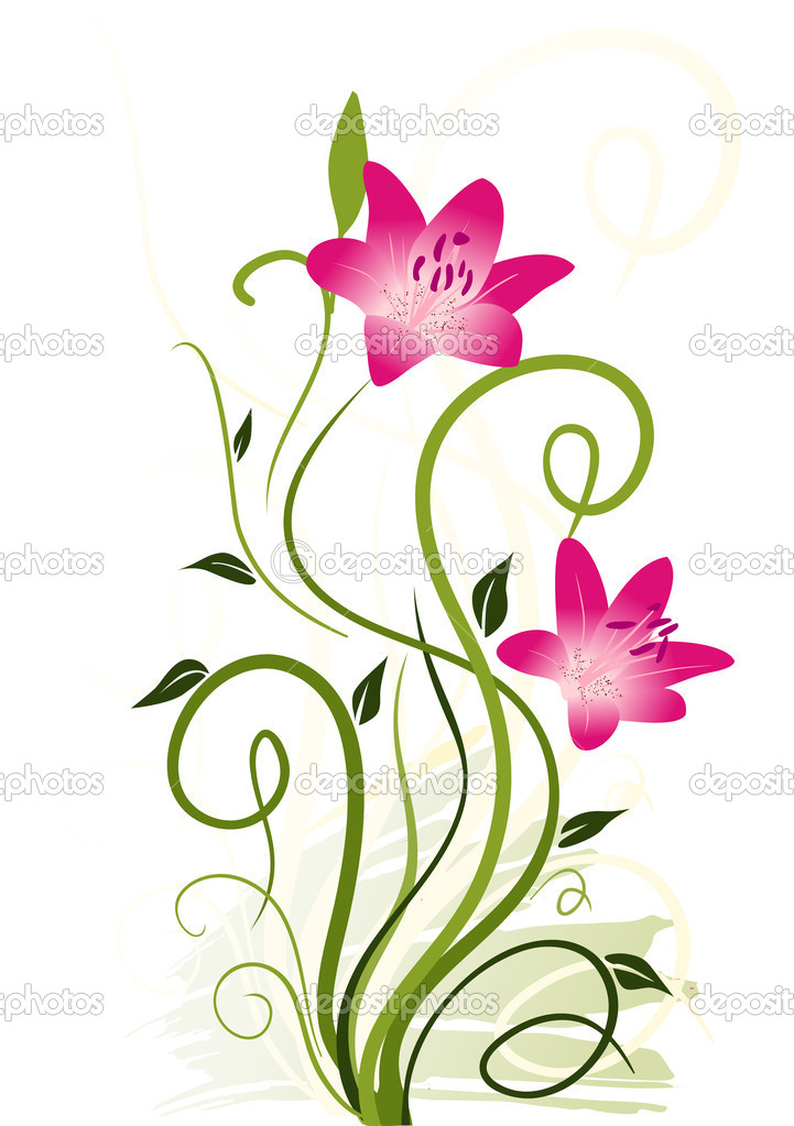 Abstract floral elements — Stock Vector #3749719