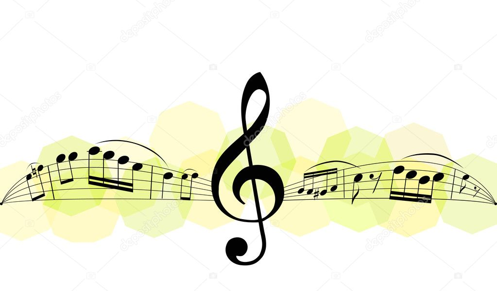 Musical notes  Stockvectorbeeld #3749765