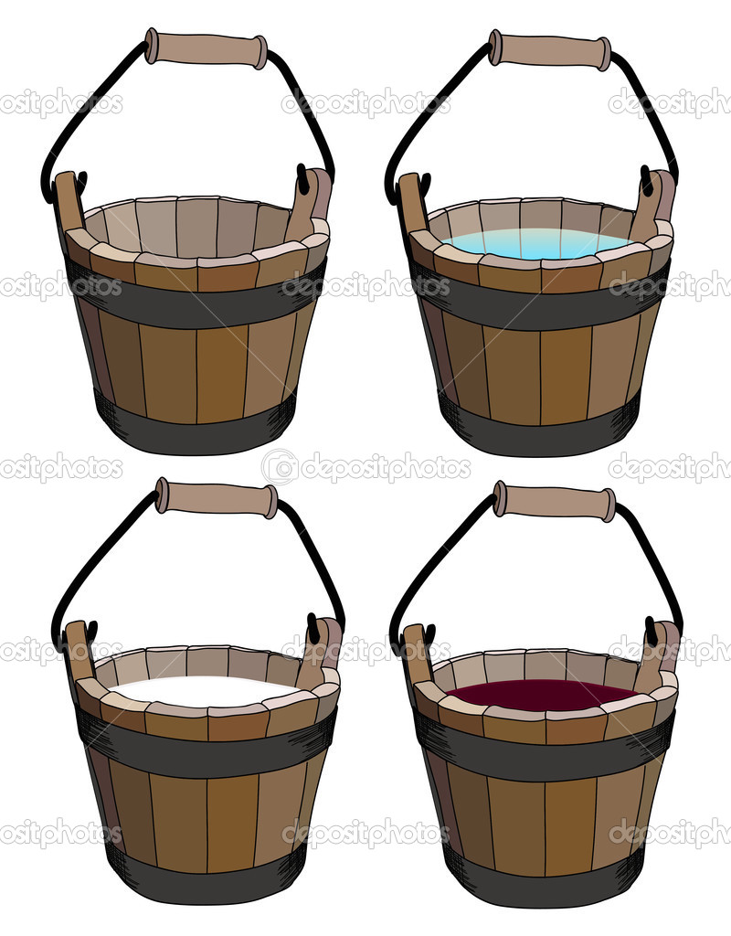 Bucket — Stock Vector #3749831