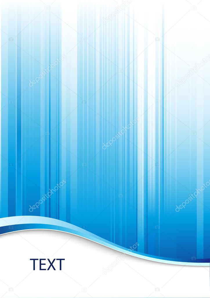 Blue abstract background with place for text — Vektorgrafik #2735314