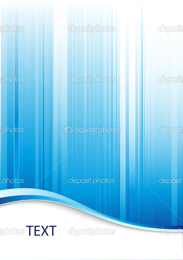 Blue abstract background with place for text — 图库矢量图片 #2735314