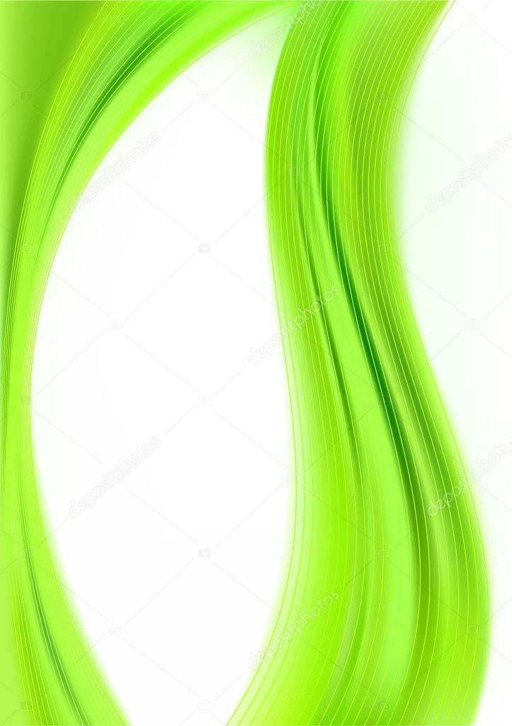    abstract background green  Stock Vector #2735363