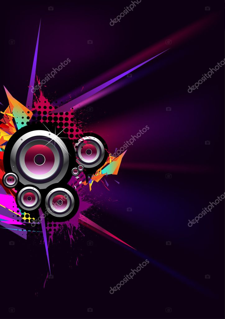 Urban musical poster — Stock Vector #2921996