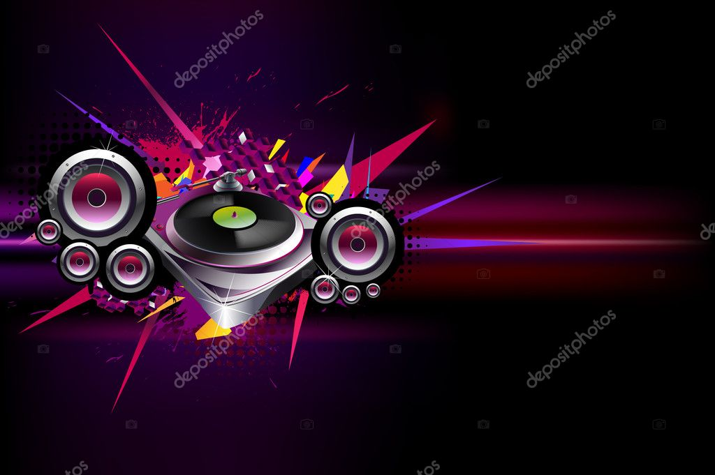Urban musical poster — Stock Vector #2921998