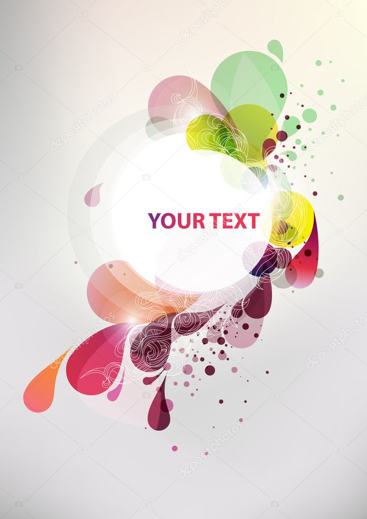 Colorful banner — Stock Vector #3492874