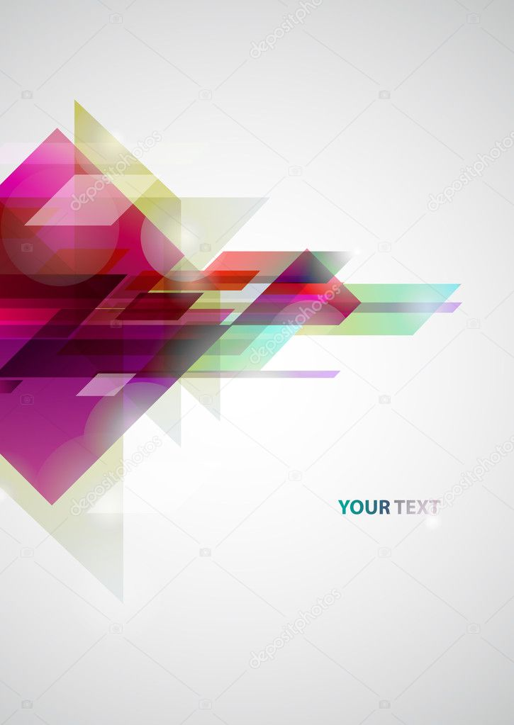 Abstract colors background — Vektorgrafik #3492974