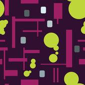 Abstractos coloridos patrones sin fisuras — Vector de stock