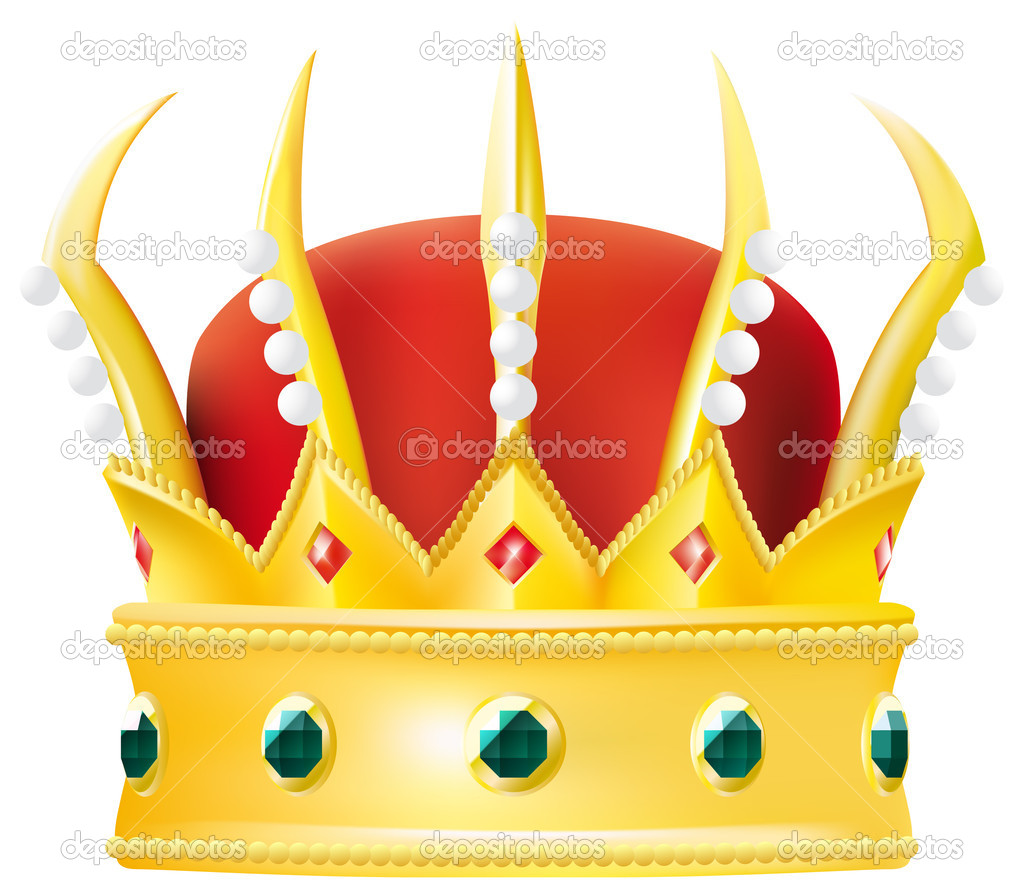 Golden crown  Stock Vector #3183700