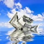 Dollar Ship — Stock Photo