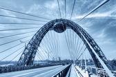 Cable stayed bridge — Stock Photo