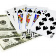Royalty-Free Stock Photo: Poker money
