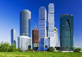 View of the skyscrapers — Stock Photo