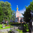Assumption Church Novodevichy Convent — Stock Photo