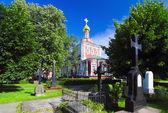 Iglesia monasterio novodévichi asunción — Foto de Stock