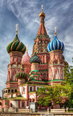Cathedral of the Intercession (St. Basil's Cathedral) — 图库照片