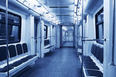 Subway train — Stock Photo