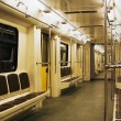 Stock Photo: Modern subway train