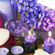 Lavender Spa — Stock Photo