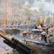 "Diorama ""The siege of Leningrad"" — Stock Photo"
