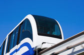 High-speed monorail train — Stock Photo
