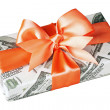 Stock Photo: Cash gift
